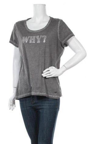 Γυναικείο t-shirt Manguun, Μέγεθος XXL, Χρώμα Γκρί, Βαμβάκι, Τιμή 8,77€