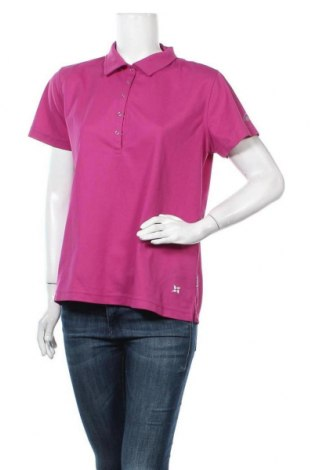Γυναικείο t-shirt McKinley, Μέγεθος XL, Χρώμα Βιολετί, Πολυεστέρας, Τιμή 10,49€