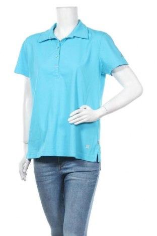Γυναικείο t-shirt McKinley, Μέγεθος XL, Χρώμα Μπλέ, Πολυεστέρας, Τιμή 6,07€