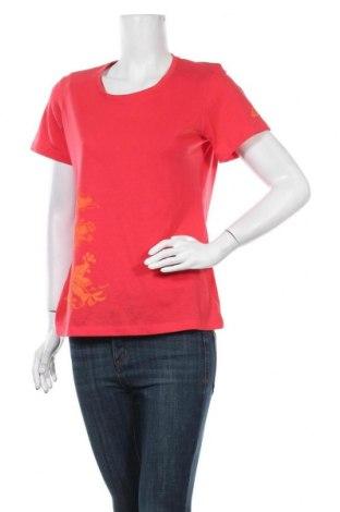 Γυναικείο t-shirt McKinley, Μέγεθος L, Χρώμα Κόκκινο, 65% πολυεστέρας, 35% βαμβάκι, Τιμή 10,49€