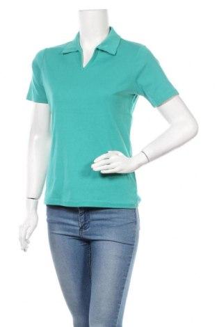 Γυναικείο t-shirt Michele Boyard, Μέγεθος L, Χρώμα Πράσινο, 55% βαμβάκι, 45% πολυεστέρας, Τιμή 12,34€