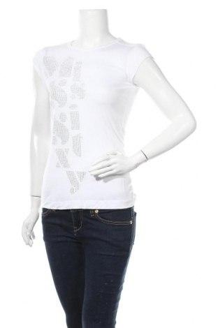 Дамска тениска Miss Sixty, Размер M, Цвят Бял, Цена 22,05лв.