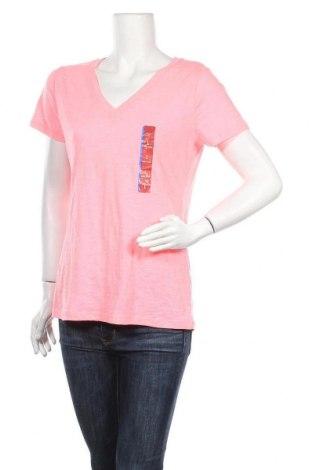 Γυναικείο t-shirt Mossimo, Μέγεθος L, Χρώμα Ρόζ , 60% βαμβάκι, 40% πολυεστέρας, Τιμή 15,59€