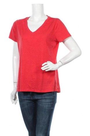 Γυναικείο t-shirt Mossimo, Μέγεθος XL, Χρώμα Κόκκινο, 60% βαμβάκι, 40% πολυεστέρας, Τιμή 11,69€