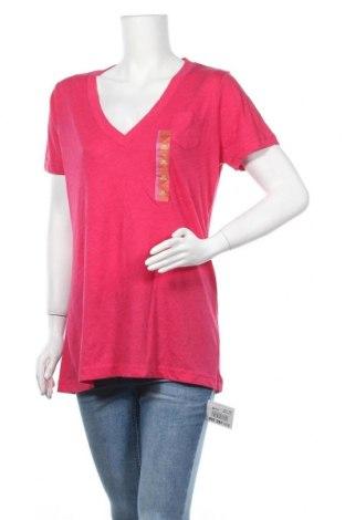 Γυναικείο t-shirt Mossimo, Μέγεθος XXL, Χρώμα Ρόζ , 60% βαμβάκι, 40% πολυεστέρας, Τιμή 18,84€