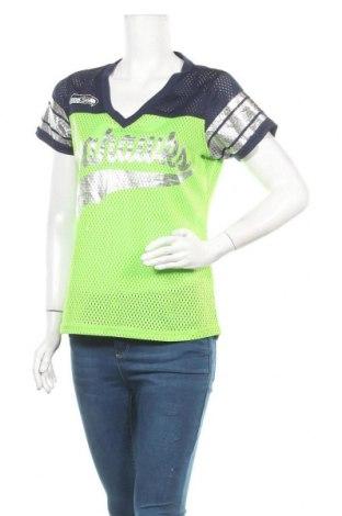 Γυναικείο t-shirt NFL, Μέγεθος S, Χρώμα Πράσινο, Πολυεστέρας, Τιμή 10,52€