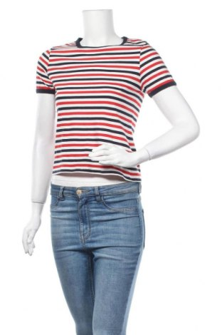 Дамска тениска New Look, Размер XS, Цвят Многоцветен, Памук, Цена 13,97лв.