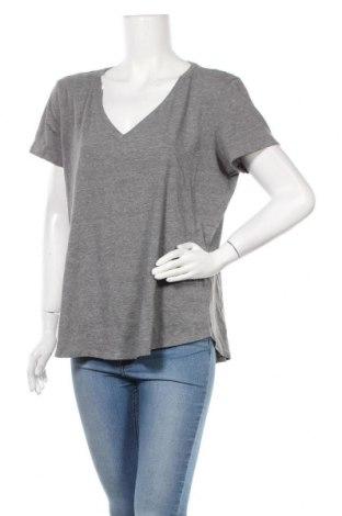 Γυναικείο t-shirt New York & Company, Μέγεθος XL, Χρώμα Γκρί, 60% βαμβάκι, 40% πολυεστέρας, Τιμή 8,64€