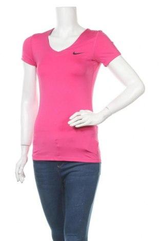 Дамска тениска Nike, Размер S, Цвят Розов, Цена 13,23лв.