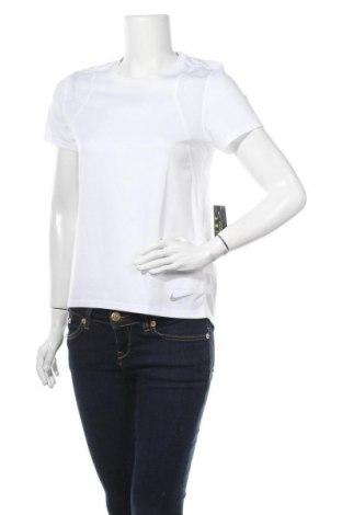 Дамска тениска Nike, Размер S, Цвят Бял, Полиестер, Цена 51,75лв.