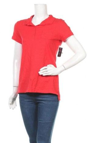 Γυναικείο t-shirt No Boundaries, Μέγεθος L, Χρώμα Κόκκινο, 95% βαμβάκι, 5% ελαστάνη, Τιμή 14,29€