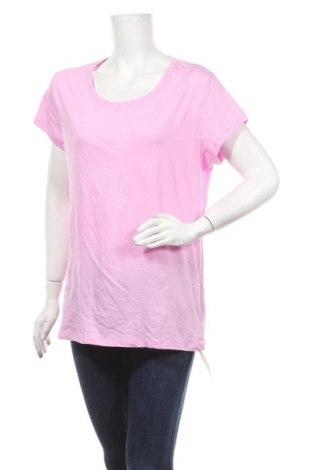 Γυναικείο t-shirt No Boundaries, Μέγεθος XXL, Χρώμα Ρόζ , 60% βαμβάκι, 40% πολυεστέρας, Τιμή 10,49€