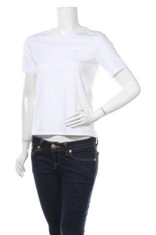 Дамска тениска ONLY, Размер XS, Цвят Бял, Памук, Цена 15,12лв.