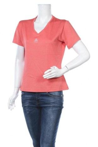 Дамска тениска Odlo, Размер XXL, Цвят Розов, 95% полиестер, 5% еластан, Цена 6,62лв.