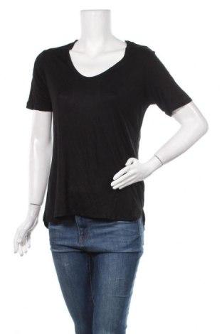 Γυναικείο t-shirt One Love, Μέγεθος M, Χρώμα Μαύρο, Βισκόζη, Τιμή 5,72€