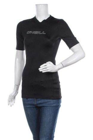 Дамска тениска O'neill, Размер M, Цвят Черен, 82% полиамид, 18% еластан, Цена 11,27лв.