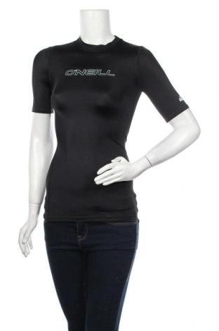 Дамска тениска O'neill, Размер S, Цвят Черен, 82% полиамид, 18% еластан, Цена 11,27лв.