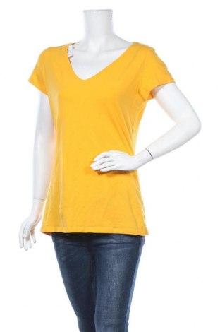 Γυναικείο t-shirt Orsay, Μέγεθος L, Χρώμα Κίτρινο, Τιμή 9,35€
