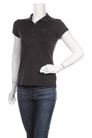 Дамска тениска PUMA, Размер M, Цвят Черен, 36% памук, 33% вискоза, 26% полиестер, 5% еластан, Цена 11,76лв.