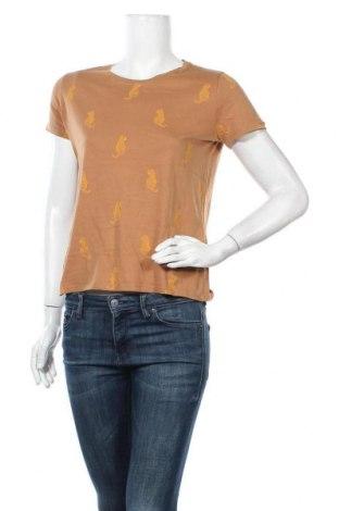Дамска тениска Pimkie, Размер S, Цвят Кафяв, Цена 17,85лв.