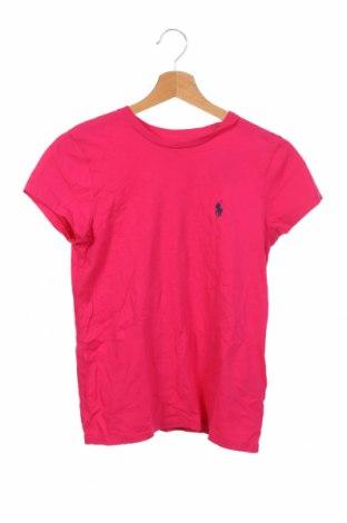 Γυναικείο t-shirt Polo By Ralph Lauren, Μέγεθος XS, Χρώμα Ρόζ , Βαμβάκι, Τιμή 31,70€