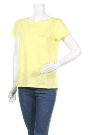 Γυναικείο t-shirt Promod, Μέγεθος M, Χρώμα Κίτρινο, Βαμβάκι, Τιμή 9,35€
