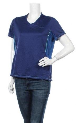 Γυναικείο t-shirt Quechua, Μέγεθος L, Χρώμα Μπλέ, Τιμή 8,83€