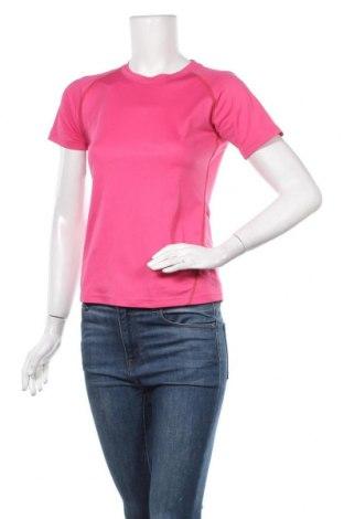 Γυναικείο t-shirt Quechua, Μέγεθος XS, Χρώμα Ρόζ , Πολυεστέρας, Τιμή 4,16€