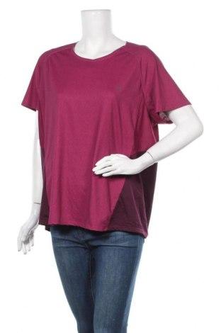 Γυναικείο t-shirt Quechua, Μέγεθος XL, Χρώμα Ρόζ , Τιμή 7,01€