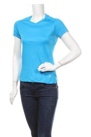 Γυναικείο t-shirt Quechua, Μέγεθος XS, Χρώμα Μπλέ, 75% πολυαμίδη, 25% ελαστάνη, Τιμή 3,90€