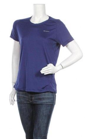 Γυναικείο t-shirt Quechua, Μέγεθος L, Χρώμα Μπλέ, 77% πολυαμίδη, 23% ελαστάνη, Τιμή 8,77€
