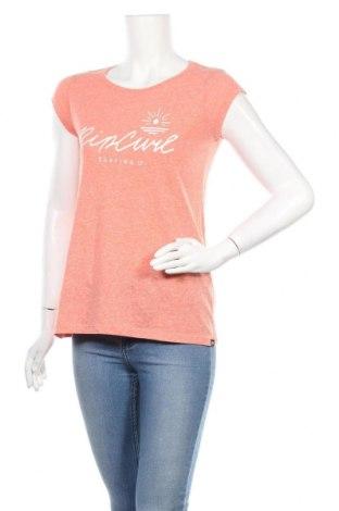 Γυναικείο t-shirt Rip Curl, Μέγεθος S, Χρώμα Ρόζ , Τιμή 9,87€