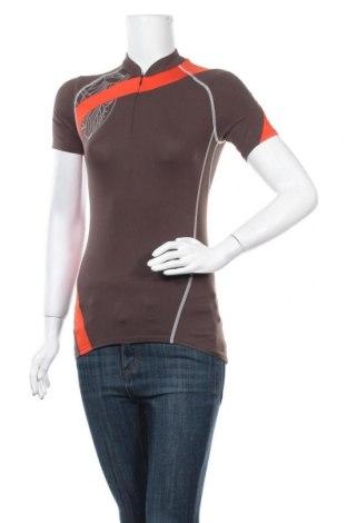 Дамска тениска SCOTT, Размер S, Цвят Кафяв, 86% полиамид, 14% еластан, Цена 7,56лв.