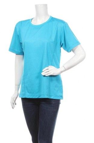 Дамска тениска SOC, Размер XL, Цвят Син, Полиестер, Цена 8,40лв.