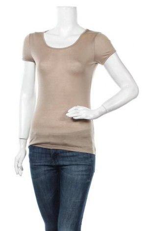 Дамска тениска Sepia+, Размер M, Цвят Бежов, Тенсел, Цена 6,25лв.