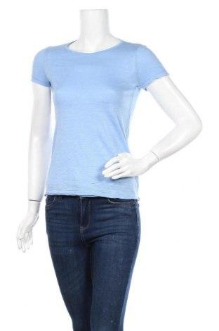 Γυναικείο t-shirt Sisley, Μέγεθος XS, Χρώμα Μπλέ, Τιμή 10,52€