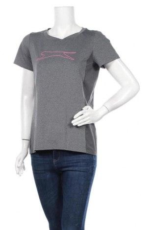 Дамска тениска Slazenger, Размер M, Цвят Сив, Цена 15,12лв.