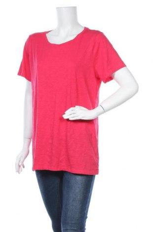 Γυναικείο t-shirt Sonoma, Μέγεθος XL, Χρώμα Ρόζ , 60% βαμβάκι, 40% πολυεστέρας, Τιμή 9,87€