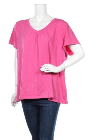 Γυναικείο t-shirt Sonoma, Μέγεθος XXL, Χρώμα Ρόζ , 58% βαμβάκι, 38% πολυεστέρας, 4% ελαστάνη, Τιμή 9,09€