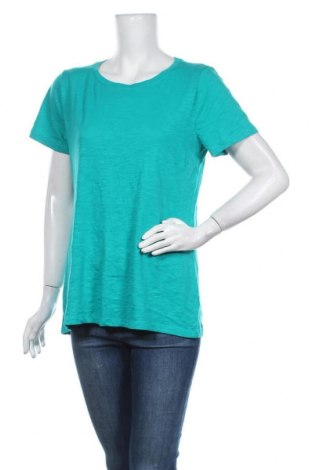Γυναικείο t-shirt Sonoma, Μέγεθος L, Χρώμα Πράσινο, 60% βαμβάκι, 40% πολυεστέρας, Τιμή 10,49€