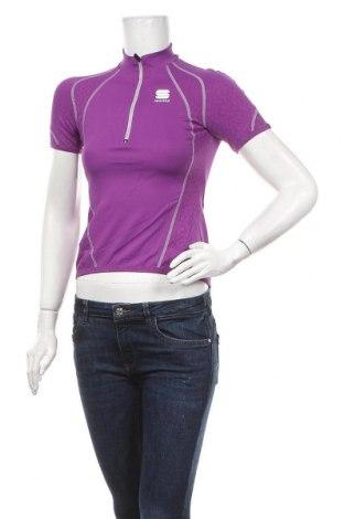 Дамска тениска Sportful, Размер S, Цвят Лилав, 94% полиамид, 6% еластан, Цена 31,50лв.