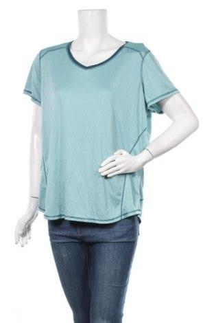 Дамска тениска St. John's Bay, Размер XXL, Цвят Син, Полиестер, Цена 5,67лв.