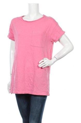 Γυναικείο t-shirt Stradivarius, Μέγεθος S, Χρώμα Ρόζ , Βαμβάκι, Τιμή 8,18€