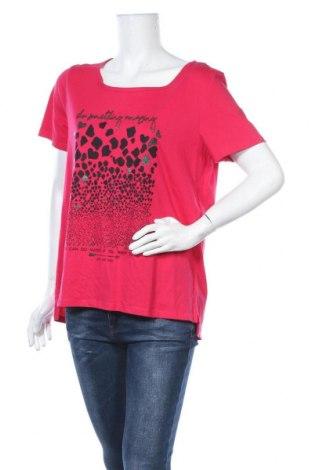 Дамска тениска Street One, Размер L, Цвят Розов, Памук, Цена 16,80лв.