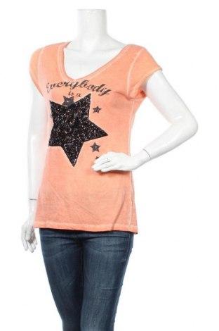 Дамска тениска Sublevel, Размер M, Цвят Оранжев, Цена 14,28лв.