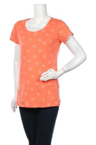 Γυναικείο t-shirt Supermom, Μέγεθος M, Χρώμα Πορτοκαλί, Βαμβάκι, Τιμή 10,10€