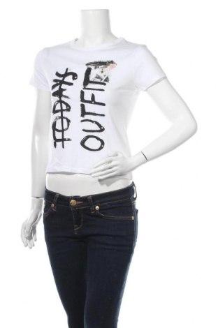 Дамска тениска Tally Weijl, Размер XS, Цвят Бял, Цена 12,50лв.
