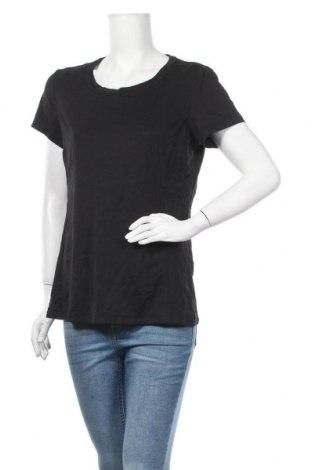 Дамска тениска Tek Gear, Размер L, Цвят Черен, 92% полиестер, 8% еластан, Цена 5,88лв.
