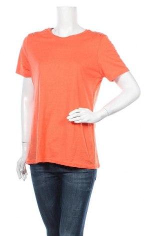 Γυναικείο t-shirt Time and tru, Μέγεθος L, Χρώμα Πορτοκαλί, 60% βαμβάκι, 40% πολυεστέρας, Τιμή 8,44€