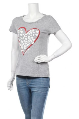 Γυναικείο t-shirt Tom Tailor, Μέγεθος S, Χρώμα Γκρί, 90% βαμβάκι, 10% βισκόζη, Τιμή 13,58€